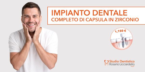 Impianto dentale a Paderno Dugnano